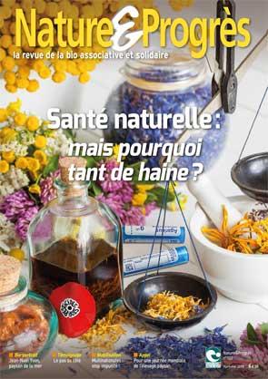 revue nature et progrès : santé naturelle