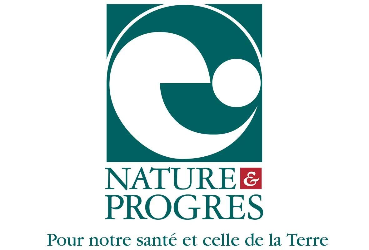 Logo NP carré avec slogan
